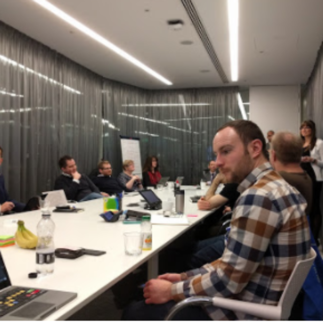 Discussing Internal Communications at Google London