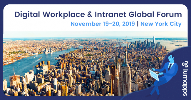 Digital Workplace Intranet Global Forum NYC
