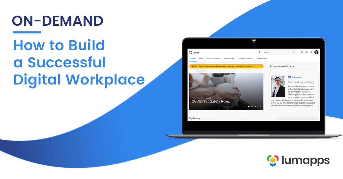 Webinar How to Build a Successful Digital Workplace