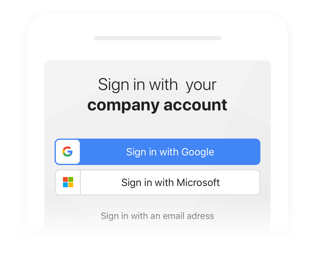 Single Sign-in on a Google Intranet