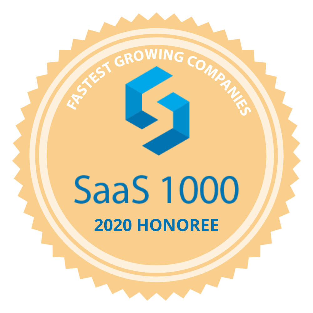 SaaS 1000 2020 Honoree Badge FGC
