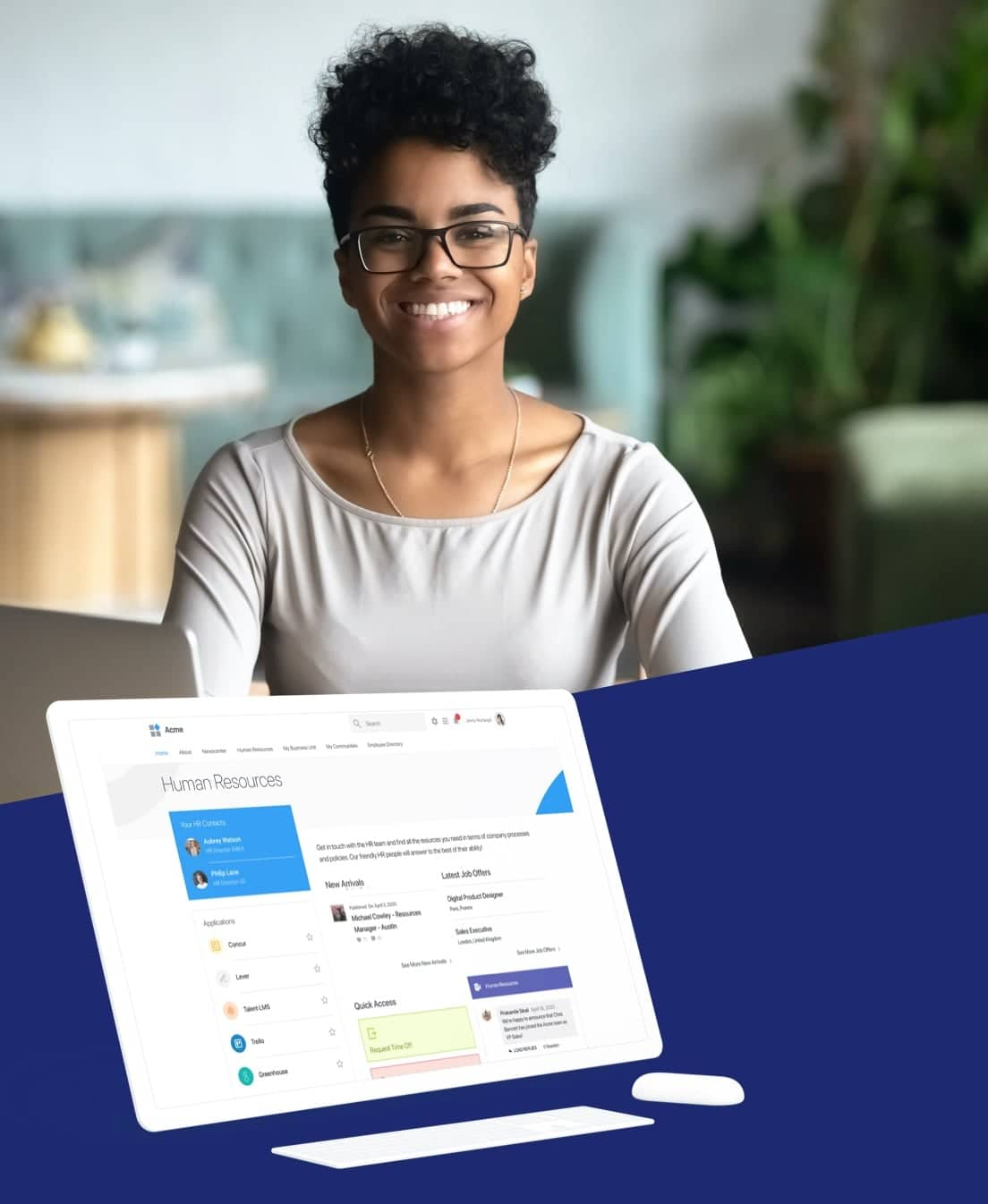 LumApps Intranet for Human Ressources