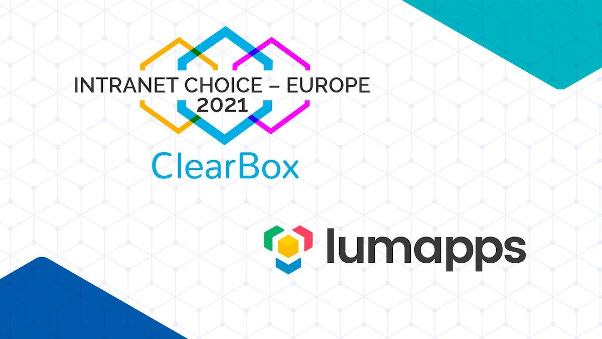 ClearBox Intranet Choice - Europe 2021 - LumApps